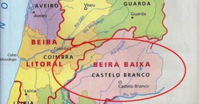 Beira Baixa - antiga província de Portugal