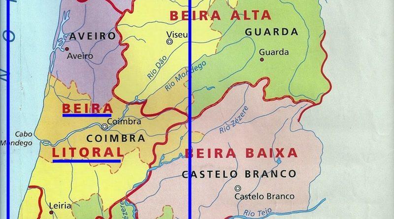 Beira Litoral - antigas províncias de Portugal