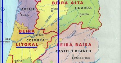 Beira Litoral – antigas províncias de Portugal