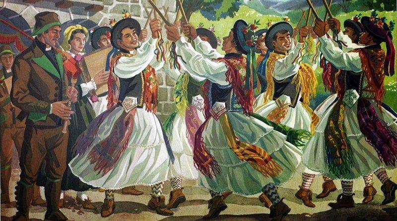 Grupos de Folclore e Etnográficos de Trás-os-Montes e Alto Douro - Pauliteiros de Miranda