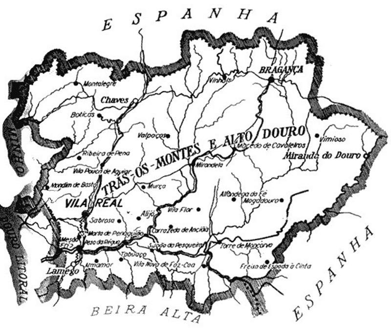 Trás-os-Montes e Alto Douro – antigas províncias