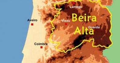 Beira Alta - antiga província de Portugal