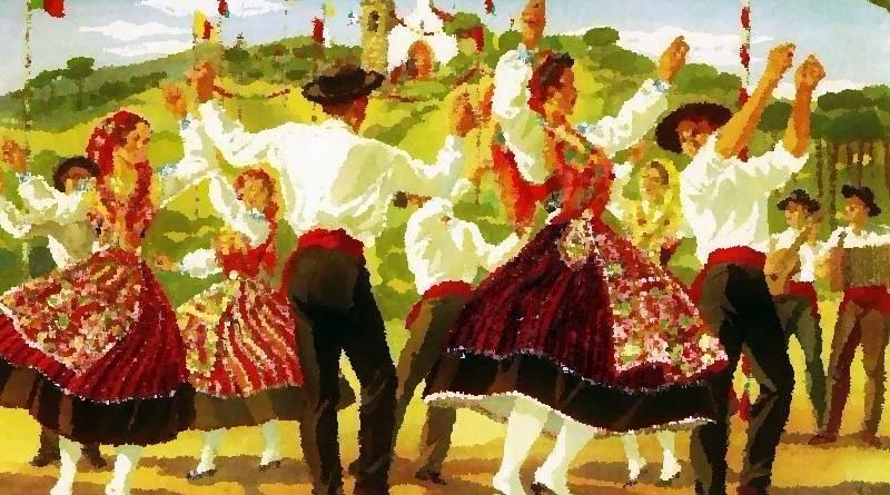 Danças Populares Portuguesas - texto de Tomás Ribaz
