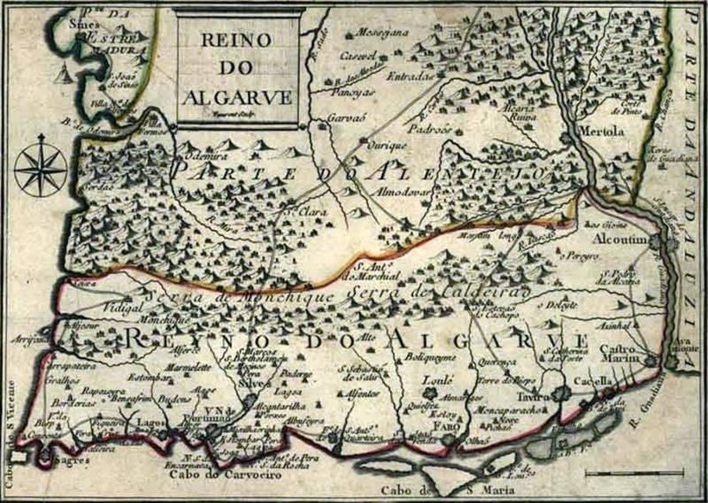Algarve - antiga província de Portugal