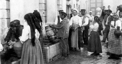Aguadeiro e Aguadeiras | Profissões antigas