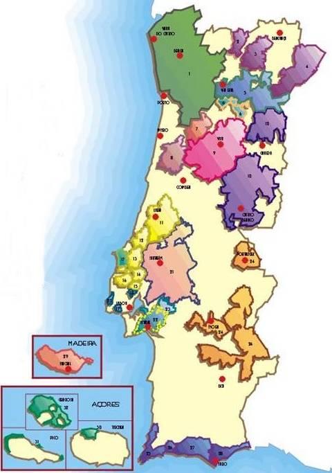 Denominações de Origem dos Vinhos Portugueses
