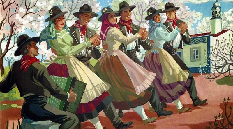Corridinho e Baile Mandado no Algarve