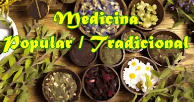 Medicina popular e tradicional
