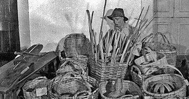 A peça do mês - O cesteiro