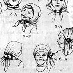 Trajos tradicionais: peças, calçado e adereços – O lenço da cabeça