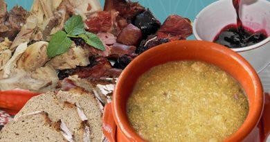Gastronomia tradicional das Terras de Ribeira de Pena