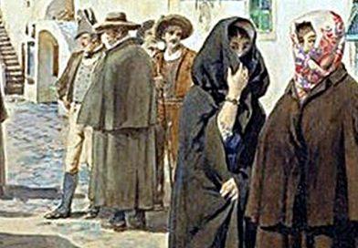 Trajes do Algarve – Trajo de mulher e de homem