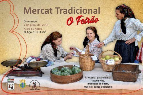 Cartaz de divulgação do O Feirão - Mercado Tradicional em Andorra