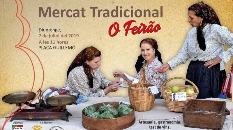 """Mercado Tradicional """"O Feirão"""" em Andorra"""