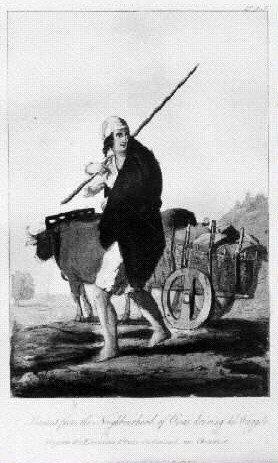Aldeão dos arredores de Mafra - Século XIX