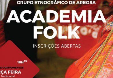 Abertas as inscrições para Academia Folk do GEA