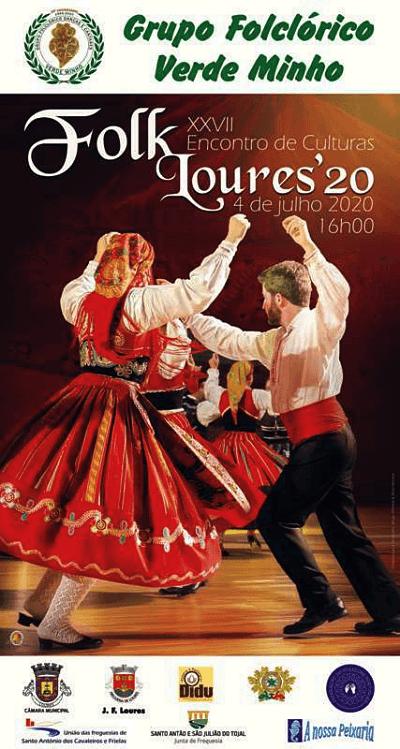Cartaz do FolkLoures'20 já foi apresentado ao público