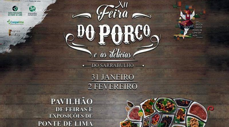 Feira do Porto e das delícias de Sarrabulho - Ponte de Lima - 2020