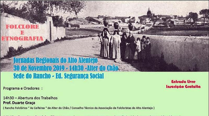 Jornadas Regionais de Folclore e Etnografia do Alto Alentejo em Alter do Chão