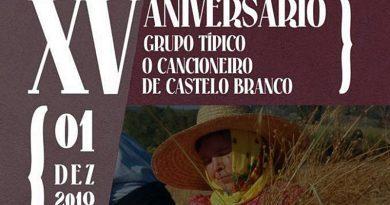 XV aniversário do Grupo Típico O Cancioneiro de Castelo Branco - Divulgação