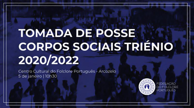 Federação do Folclore Português - Tomada de Posse dos Órgãos Sociais