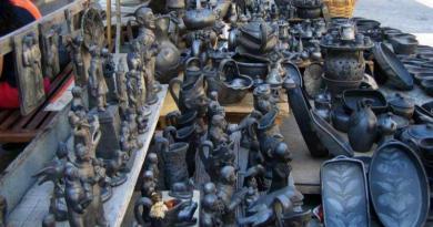 O Jogo do Panelo na Feira dos Pucarinhos, em Vila Real