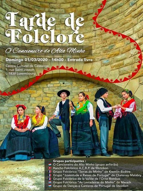 Tarde de Folclore no Luxemburgo