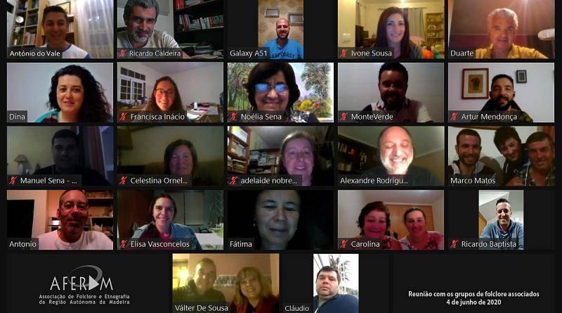 A AFERAM reuniu online com os seus associados
