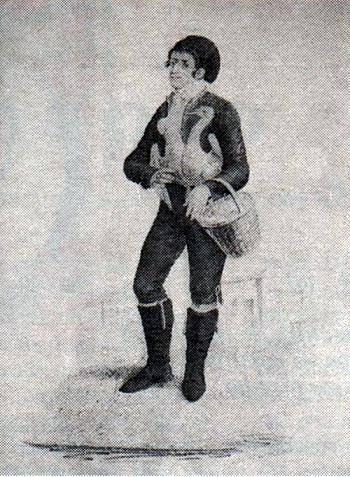Vendedor de patos - Etnografia Portuguesa