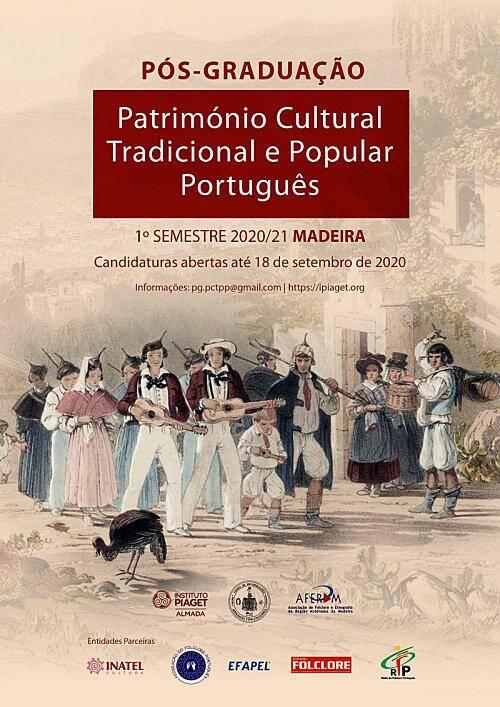 Curso de Pós-graduação em Património Cultural Tradicional Popular Português na Madeira
