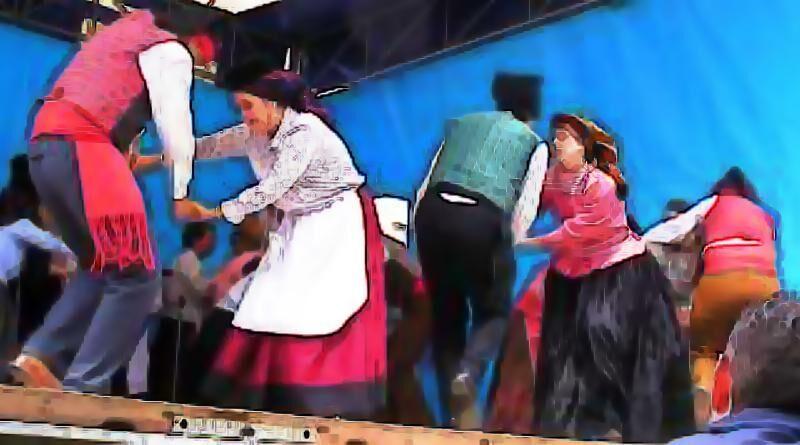 Distribuição Regional das Danças Populares Portuguesas ainda em uso