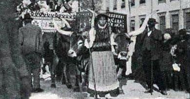 A Parada Agrícola e Cortejo da Póvoa do Varzim - 1919