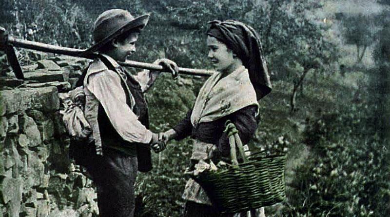 Na volta do trabalho - costumes portugueses (Folclore)