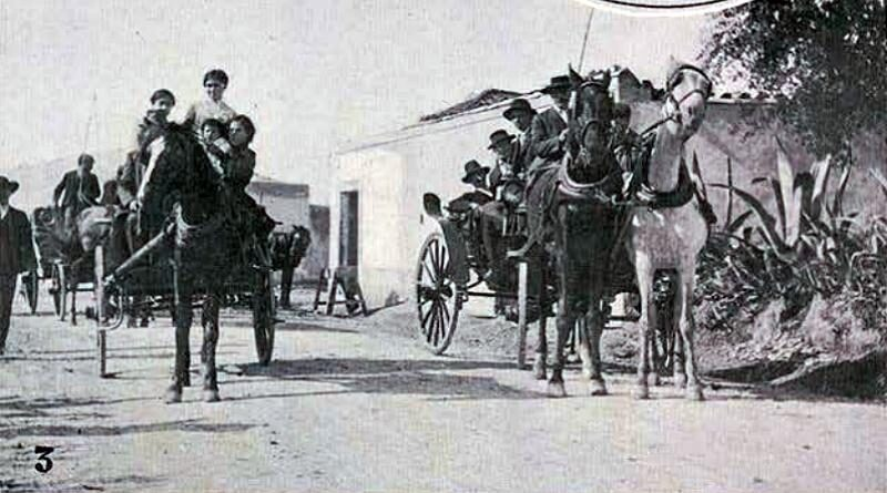 Feira do Cartaxo - 1912 | A caminho da feira