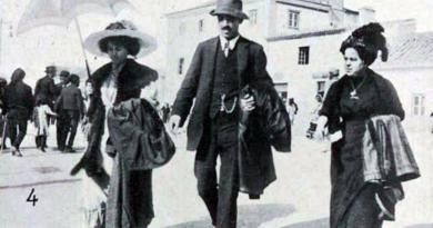 A Feira dos Santos – Cartaxo - Ribatejo | Passeando na feira (1912)