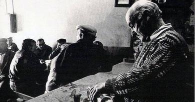 As gentes de antigamente – o lazer em Montargil - a taberna