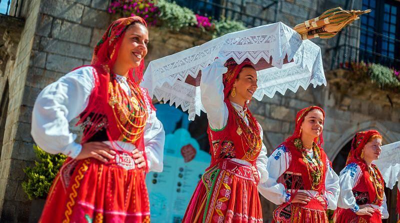 Grupo Etnográfico de Areosa em festivais de folclore virtuais