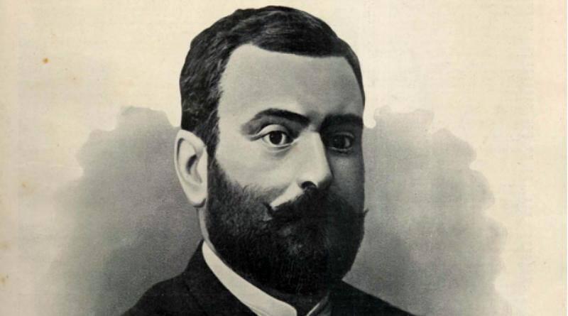 Homem de barba - Oliveira Martins
