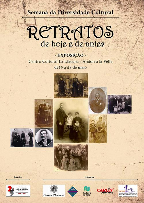 """Cartaz - """"Retratos de hoje e de antes"""" levam Andorra ao Portugal dos inícios de século XX"""