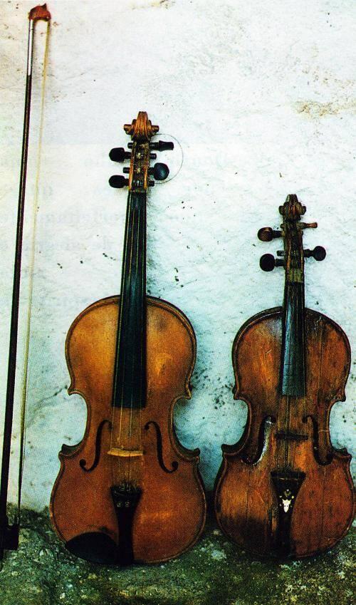 Violino e rabeca chuleira
