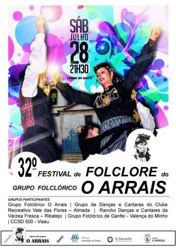 32º Festival de Folclore do Grupo Folclórico O Arrais - Ílhavo