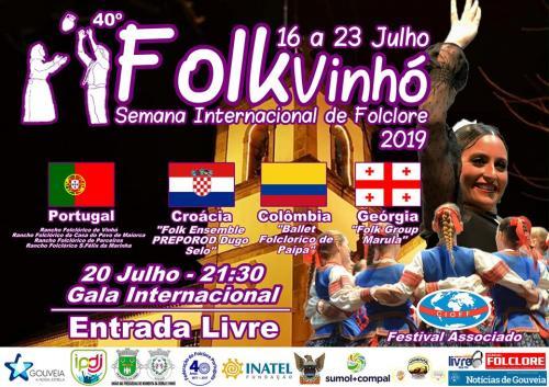 40ª Gala Internacional FolkVinhó 2019