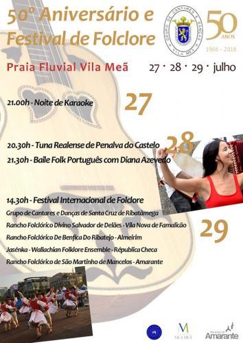 50º Festival de Folclore - Vila Meã