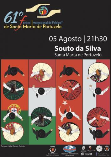 61º Festival Internacional de Folclore de Santa Marta de Portuzelo - Souto da Silva