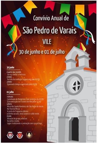 Convívio Anual de São Pedro de Varais - Vile