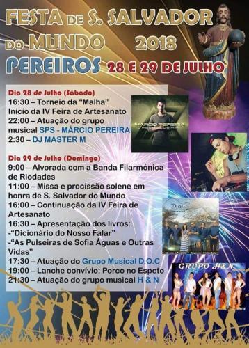 Festa de S. Salvador do Mundo - Pereiros