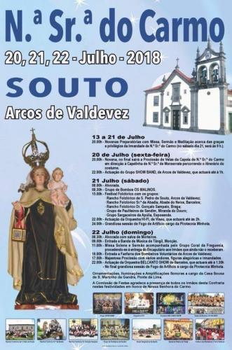 Festas em honra de Nª Sª do Carmo - Souto - Arco de Valdevez