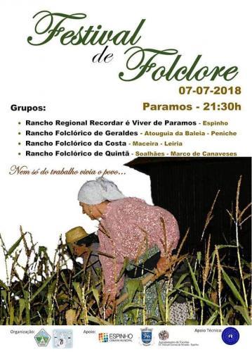 Festival de Folclore - Paramos