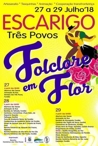 Folclore em Flor - Escarigos - Três Povos