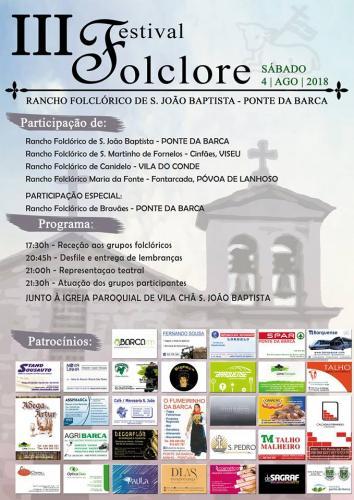 III Festival de Folclore - Ponte da Barca
